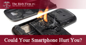 Smartphone Can Cause Serious Injury